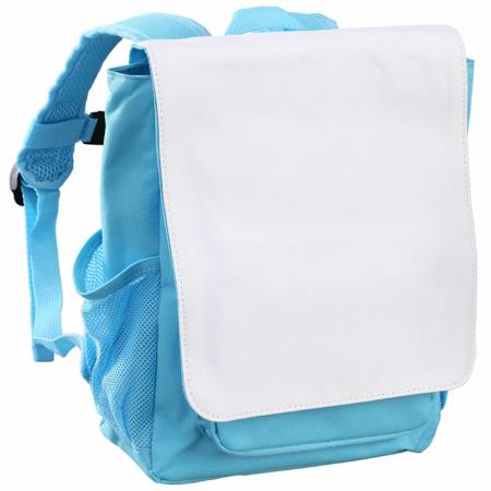 Kinderrucksack hellblau unbedruckt