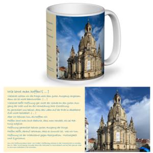 Fototasse Frauenkirche wie lernt man hoffen